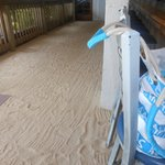 Indoor sand bar