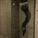 Standing shower Deluxe room