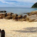 beachfront/snorkeling area