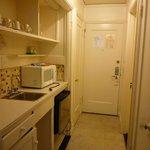 room 110 - kitchenette