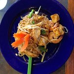 Phad Thai. Absolutely delicious and how pretty!