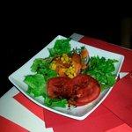 A dinner salad