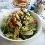 salade (petite 40dhs)