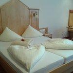 Zimmer und Bettendekoration