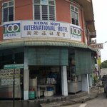 the kopitiam to buy famous and delicious Nasi Kandar