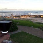 Sundowner with an amzing view