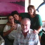 Na companhia da D.Ana e o Sr.Carlos