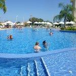 Huge pool area