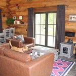 Living Room - Wood Burning Stove