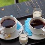 Morning tea....