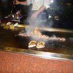 Teppanyaki restaurant in hotel - nice meal