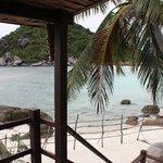 vista dalla veranda riva mare