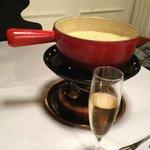 Fondue au champagne
