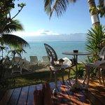 Une magnifique vue sur Tahiti!!