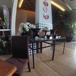 Traditional local cuisine corner