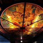 soffitto liberty del bar