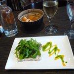 My starter - mackerel pate