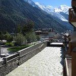 Udsigt mod Mont Blanc