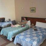 Room at the Hotel El Salam, Aswan