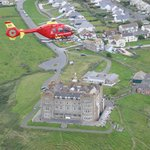 Air Ambulance over Camelot