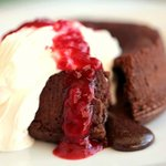 The most selling dessert: Chocolate Souffle