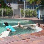 clean, safe pool