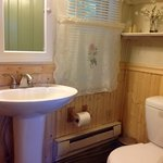 Updated baths with shower