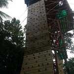 Abseiling and Flying Fox