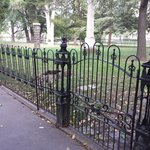 beautiful fence@ grave site