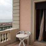 Terrasse von Zimmer 204