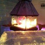 fire area near the bar !