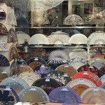 negozio artigianale di ventagli