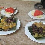°Extra balinesisches Frühstück ;-)