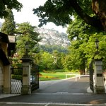 Spectacular entryway to Villa D'Este