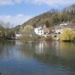 Greyhound Pond and Scarthin, Cromford