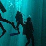 buceo en cenotes y arrecifes
