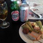 Club lounge evening snacks