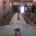 Mesa para comidas en grupo