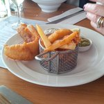 Perfect fish & chips