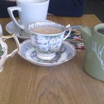 Afternoon catch up with friend and tea