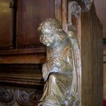 Angel on the pulpit