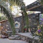 Casa yin-yan patio