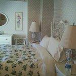 The lovely Lavender Room at The Sea Spray Inn