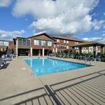 Seasonal heated outdoor pool area
