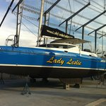 new paint job for the Catamaran