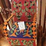 Beautiful Hand Beaded Chair