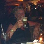 Mum and her irish coffee