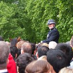Policeman 2013 trooping of the colour
