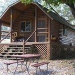 Outside of Tudor Cabin