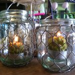 fun lanterns for tea lights and small candles!